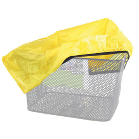Diverse Rain protection hood for baskets yellow